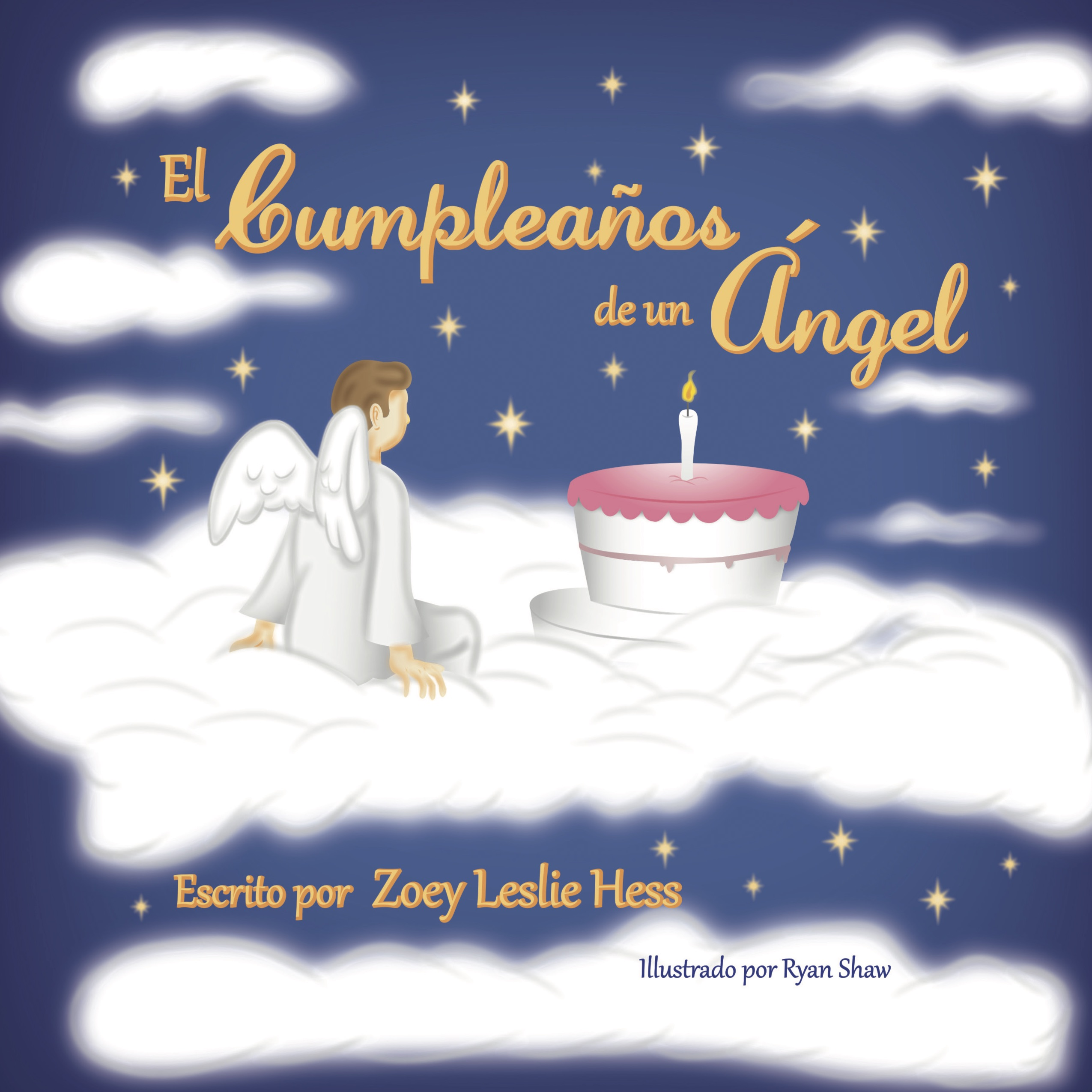 Birthday of an Angel Spanish cover copy